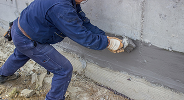 Basement Repair, Waterproofing Drain Tile Repair, Steel Reinforcing,