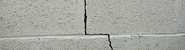Cracks Needing Foundation Repair