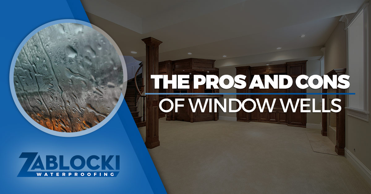 Keeping Milwaukee Dry Since 1985! & Basement Waterproofing Milwaukee: The Pros and Cons of Window Wells