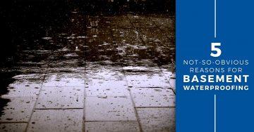 Basement Waterproofing Waukesha