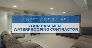 Basement Waterproofing | Milwaukee, WI