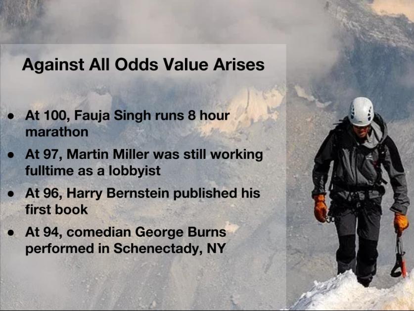 Against All Odds Value Arises