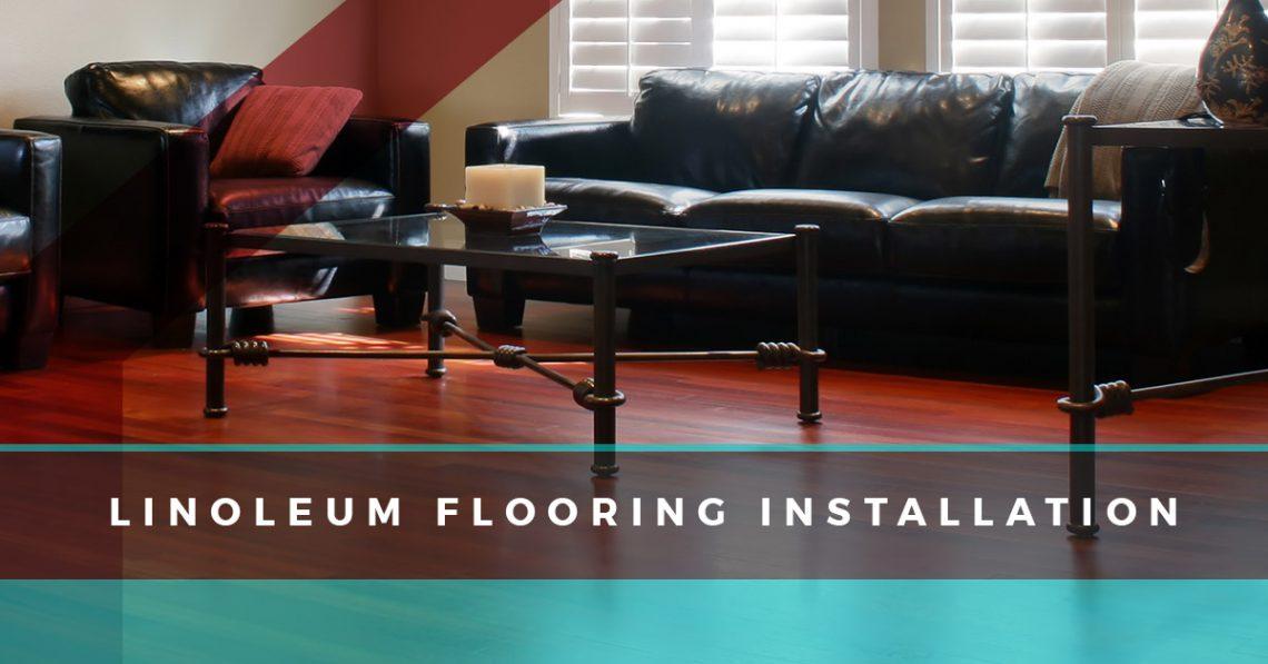 Linoleum Flooring Installation Part 76