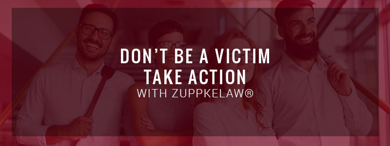 blog image, don't be a victim - take action!